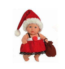 Paola Reina Third free when you buy 2! Peques Doll - Greta Celebrate Christmas - 21cm / 8''