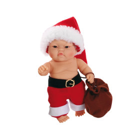 Paola Reina Third free when you buy 2! Peques Doll - Lucas celebrate Christmas - 21cm / 8''