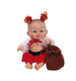 Paola Reina Third free when you buy two! Peques Doll - Sara celebrate Christmas - 21cm / 8''