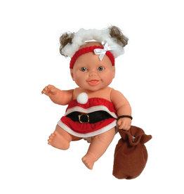 Paola Reina Third free when you buy 2! Peques Doll - Berta celebrate Christmas - 21cm / 8''