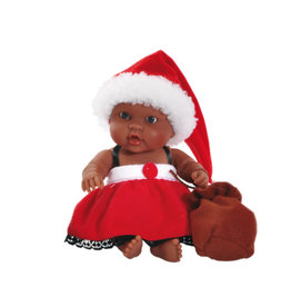 Paola Reina Third free when you buy 2! Peques Doll - Hebe celebrate Christmas - 21cm / 8''