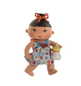 Paola Reina Doll that drinks and pee - Gilda - 22cm / 9''