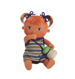 Paola Reina Doll that drinks and pee - Pia - 22cm / 9''