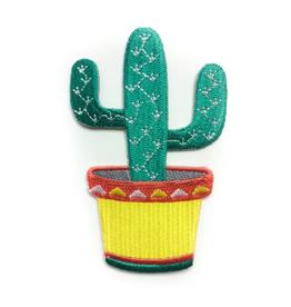 Tattoo It Écusson thermocollant - cactus