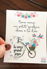 les zacôtés d'émilie scratch card - Tu seras grand-papa ! ( in french )