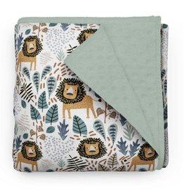 Olé Hop Minky blanket- Savannah lion