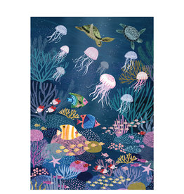 Petit Monkey Poster - Coral Reef