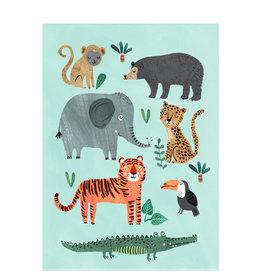 Petit Monkey Affiche - Les animaux sauvages