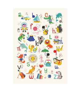 Petit Monkey Affiche - ABC (français)