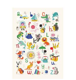 Petit Monkey Poster - ABC (french)
