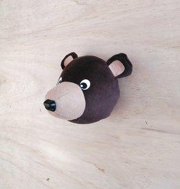 La petite renarde Tête animale murale : Petit ours