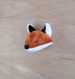 La petite renarde Tête animale murale : Petit renard
