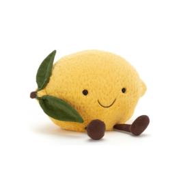 Jelly Cat Stuffed - Large Lemon