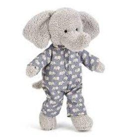 Jelly Cat Peluche - Petit éléphant en pyjamas