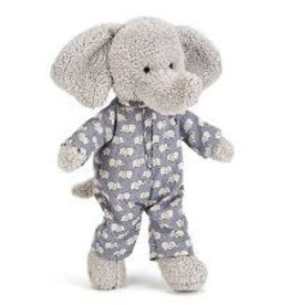 Jelly Cat Stuffed - little elephant in pajamas