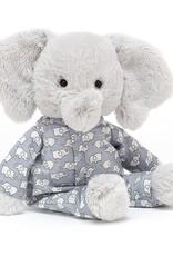 Jelly Cat Stuffed - little elephant in pajamas