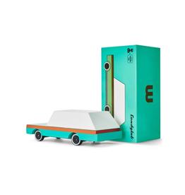 Candylab Wooden car - Candycar - Teal Wagon