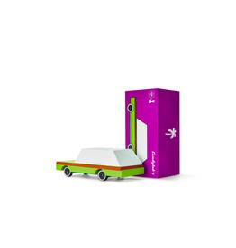 Candylab Voiture de bois - Candycar - Wagon couleur Avocat