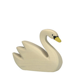 Holztiger Wooden animal - Swan