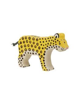 Holztiger Animal en bois - Léopard