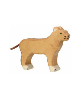 Holztiger Wooden animal - Lioness