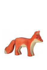 Holztiger Animal en bois - Renard adulte
