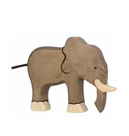 Holztiger Animal en bois - Éléphant