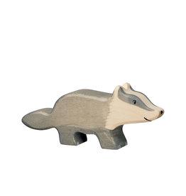 Holztiger Animal en bois - Blaireau