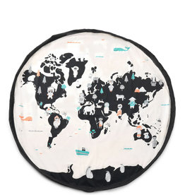 Play and Go Tapis et Sac de transport - Carte du Monde