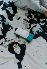 Play and Go Playmat and Storage Bag - Worldmap