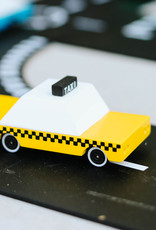 Candylab Wooden car - Candycar - Yellow cab