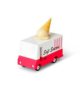 Candylab Voiture de bois - Candycar - Camion de crème glacée