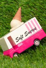 Candylab Wooden car - Candycar - Ice cream van