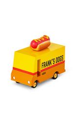 Candylab Wooden car - Candycar - Hot dog van
