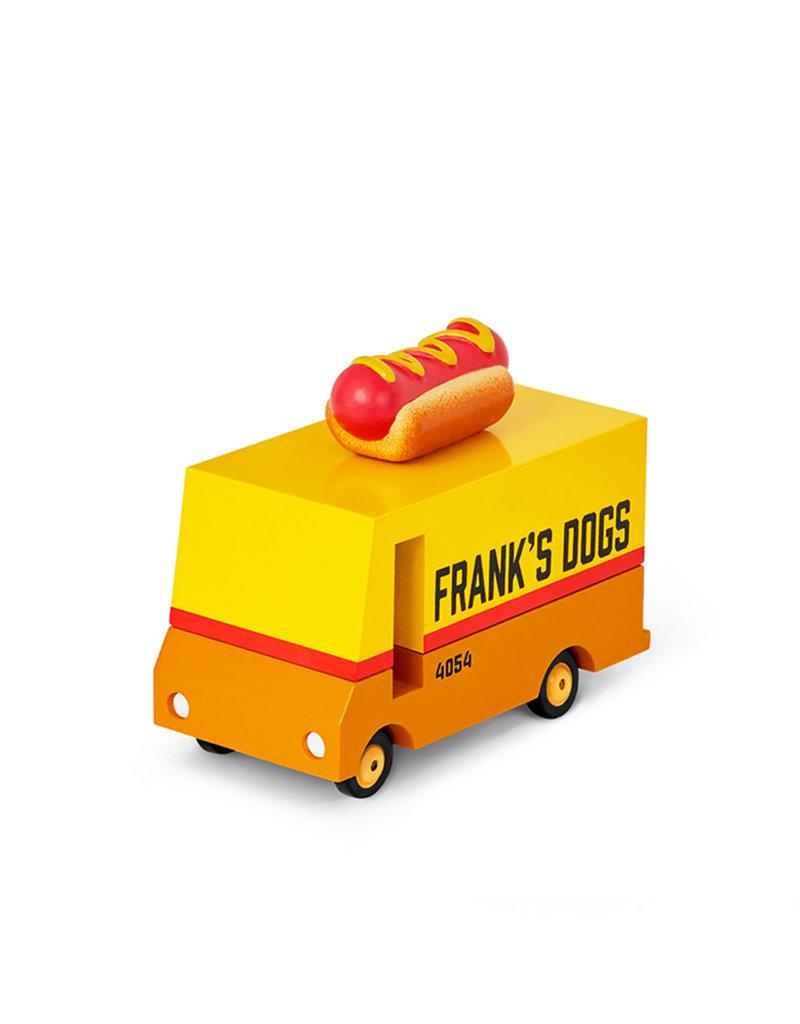 Candylab Voiture de bois - Candycar - Camion de hot dog