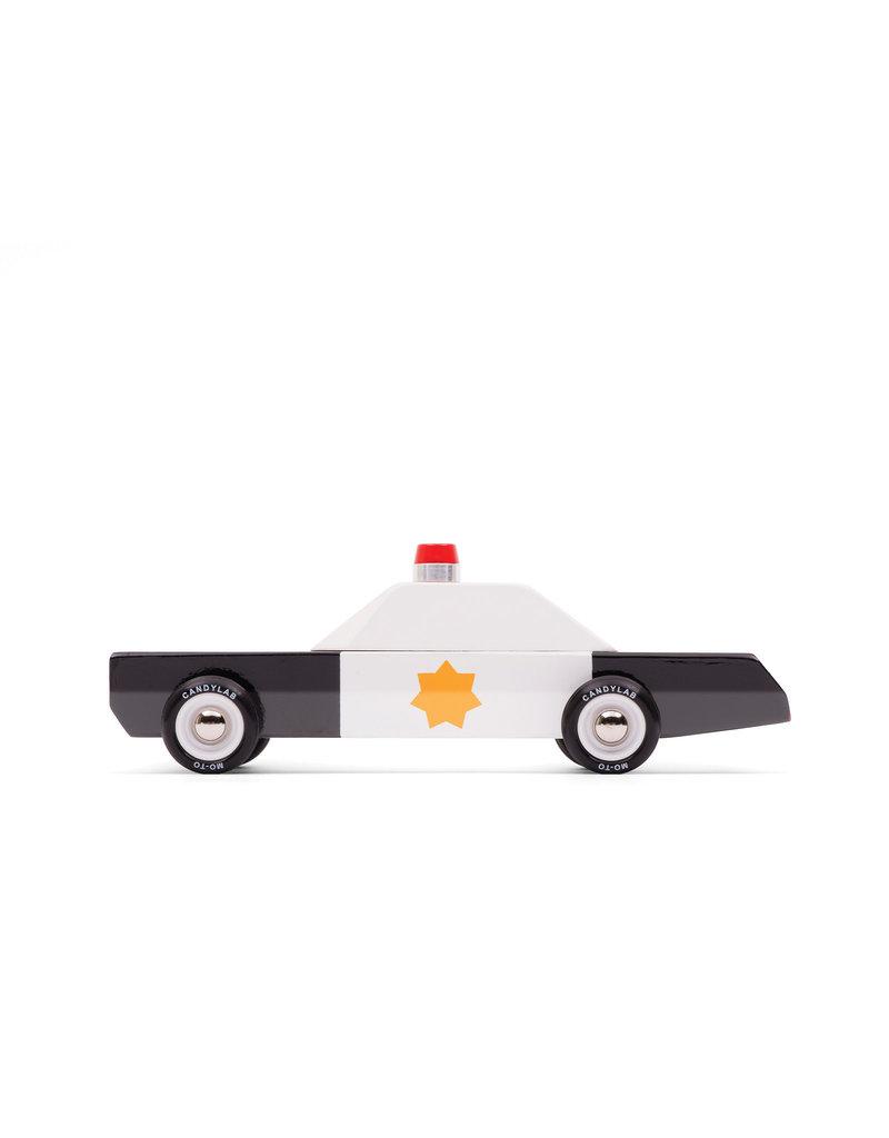 Candylab Wooden car - Candylab - Police Cruiser