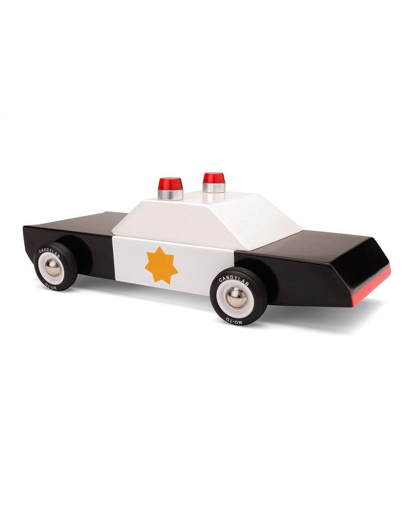 Candylab Voiture de bois - Candylab - Voiture de police