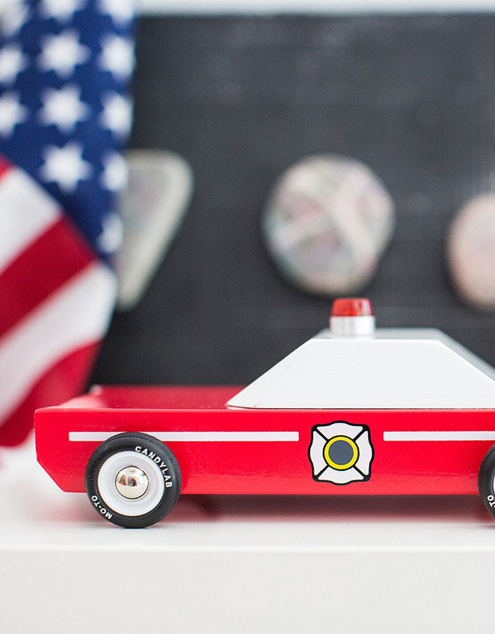 Candylab Wooden car - Candylab - Fire Chief