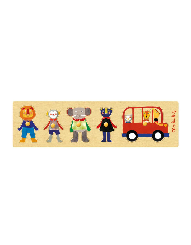 Moulin Roty Bus Puzzle