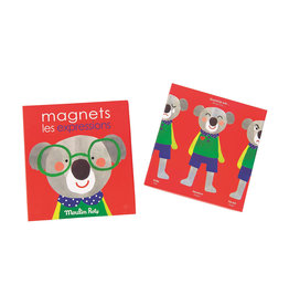 Moulin Roty Magnetic game of expressions