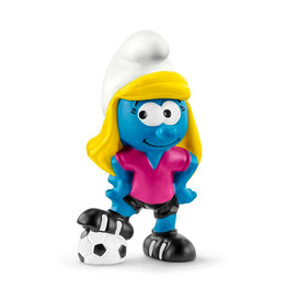 Schleich Schtroumpf - Schtroumpfette joueuse de soccer