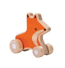 Plan Toys Renard roulant en bois