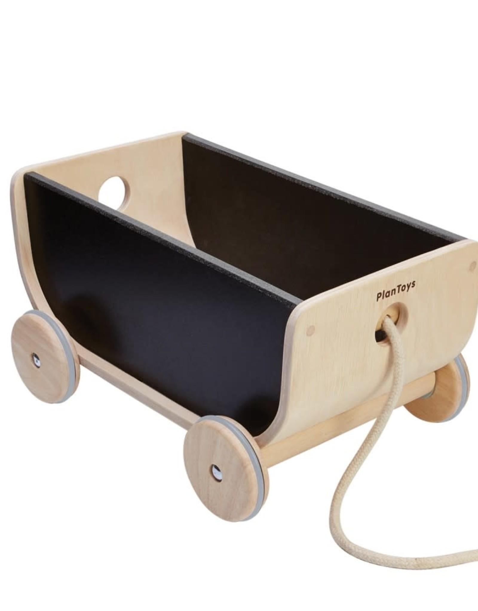 Plan Toys Wagon - Black