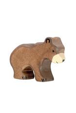 Holztiger Wooden - Brown bear cub