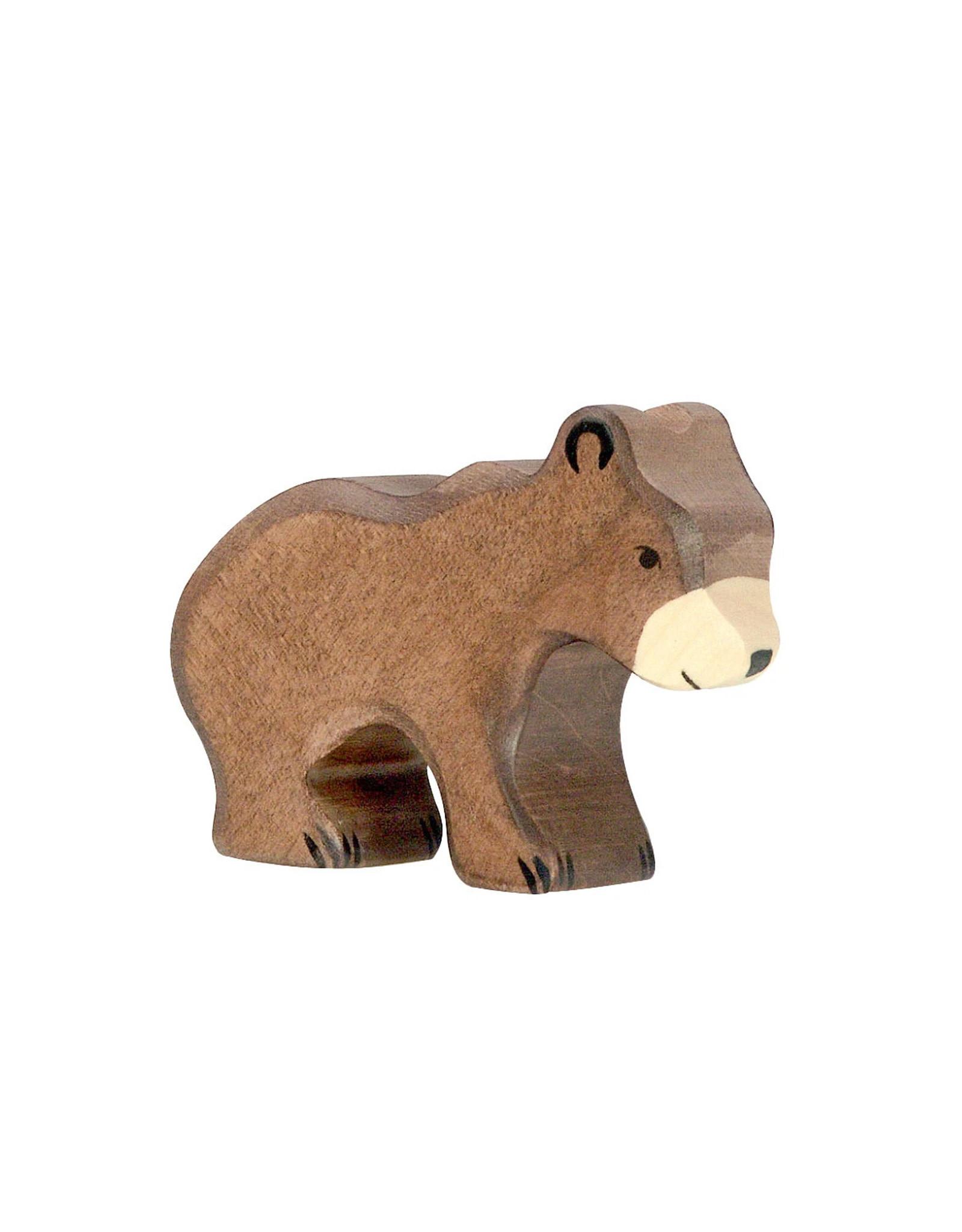 Holztiger Animal en bois -  Ourson
