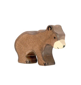 Holztiger Wooden - Brown bear cub