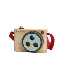 Plan Toys Caméra instantanée de bois - Lentilles 3 couleurs