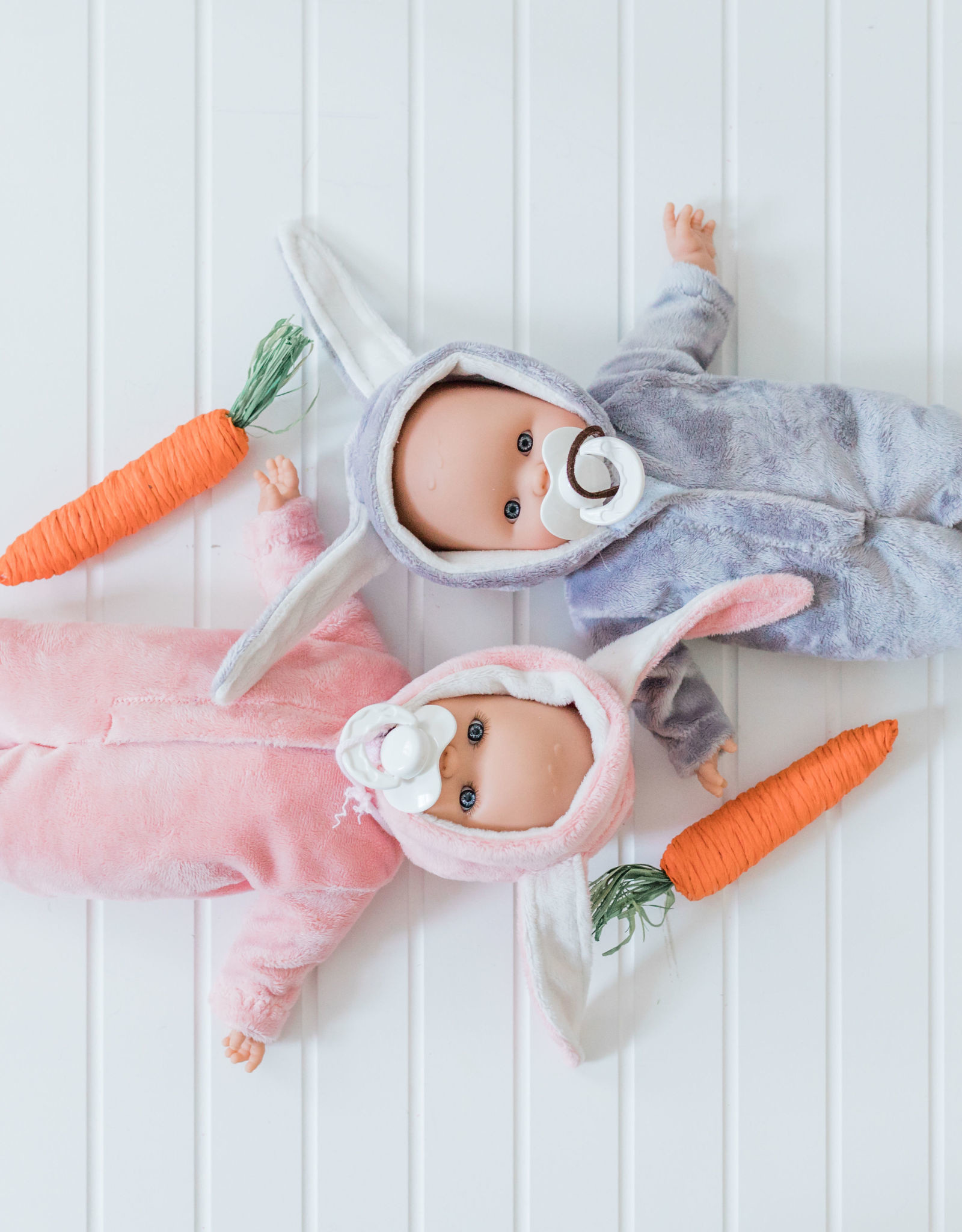 Paola Reina Alex & Sonia doll- Alex in gray rabbit pajamas