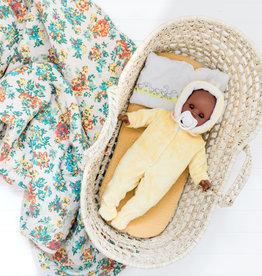 Paola Reina Alex & Sonia Easter doll- Alex in yellow rabbit pajamas