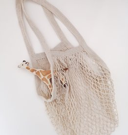 OowlStudio French Cotton net bag - Beige